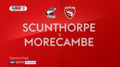 Scunthorpe 3-0 Morecambe