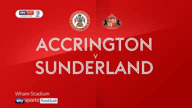 Accrington 1-3 Sunderland