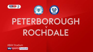 Peterborough 6-0 Rochdale