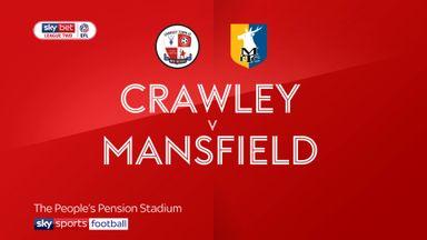 Crawley 1-0 Mansfield