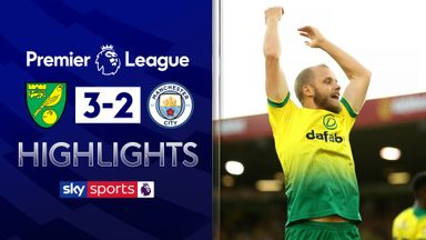 Norwich stun Man City in thriller