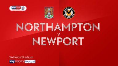 Northampton 2-0 Newport