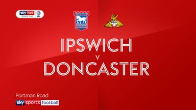 Ipswich 0-0 Doncaster