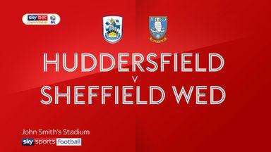 Huddersfield 0-2 Sheff Wed