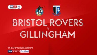 Bristol Rovers 1-1 Gillingham