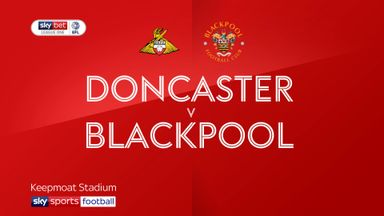 Doncaster 0-1 Blackpool
