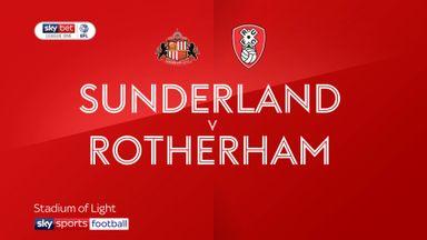 Sunderland 1-1 Rotherham