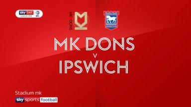 MK Dons 0-1 Ipswich