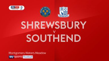 Shrewsbury 4-3 Southend