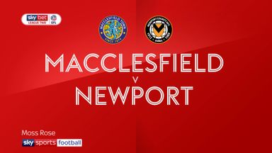 Macclesfield 1-1 Newport