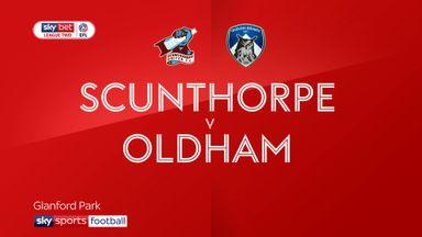 Scunthorpe 2-2 Oldham