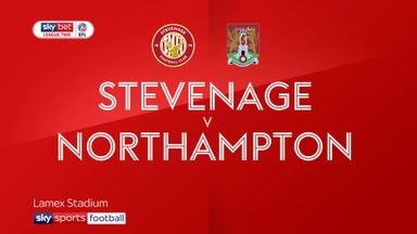 Stevenage 0-1 Northampton