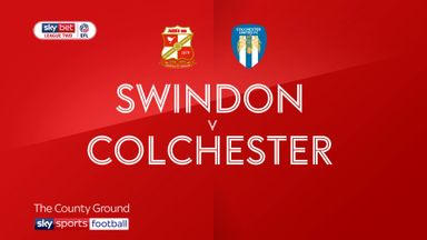 Swindon 0-3 Colchester