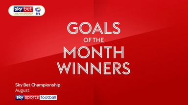 EFL Goal of the Month winners: August