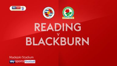 Reading 1-2 Blackburn