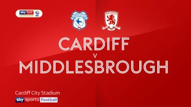 Cardiff 1-0 Middlesbrough