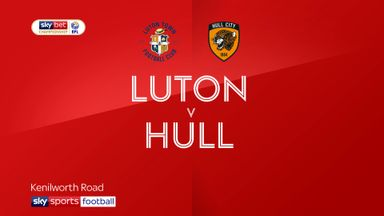 Luton 0-3 Hull