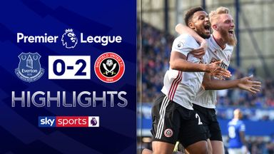 Sheff Utd stun Everton at Goodison
