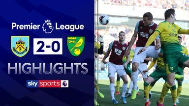 Wood double secures Burnley win