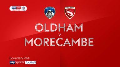 Oldham 3-1 Morecambe