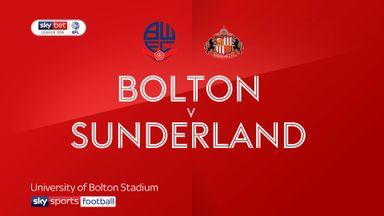 Bolton 1-1 Sunderland