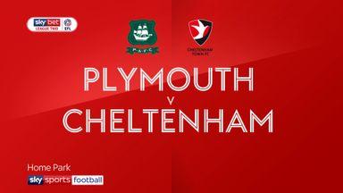Plymouth 0-2 Cheltenham
