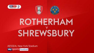 Rotherham 0-0 Shrewsbury