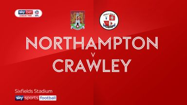 Northampton 2-2 Crawley