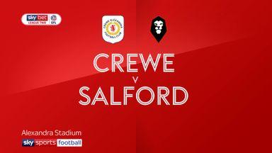 Crewe 4-1 Salford