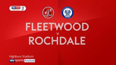 Fleetwood 2-1 Rochdale