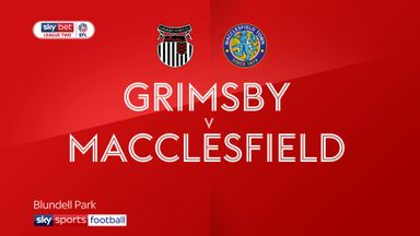 Grimsby 1-0 Macclesfield
