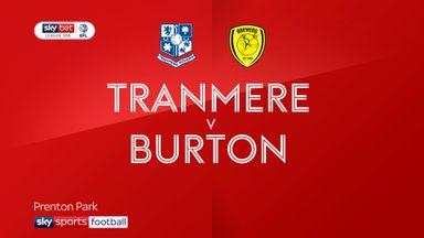 Tranmere 2-1 Burton