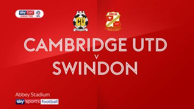 Cambridge 0-1 Swindon