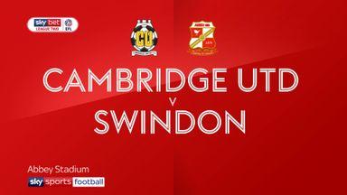 Cambridge 0-1 Swindon