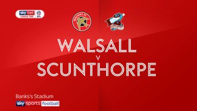 Walsall 1-0 Scunthorpe