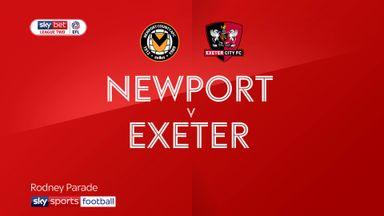 Newport 1-1 Exeter