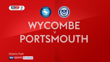 Wycombe 1-0 Portsmouth