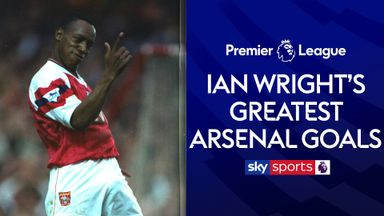 Ian Wright's greatest Arsenal goals