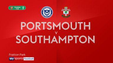 Portsmouth 0-4 Southampton