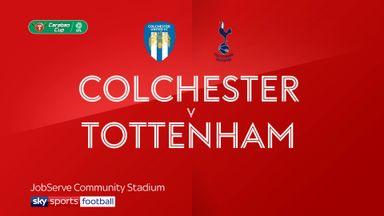 Colchester 0-0 Tottenham (4-3 pens)