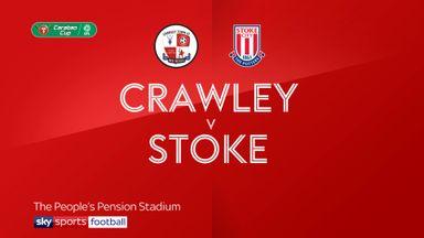 Crawley 1-1 Stoke (5-3 pens)
