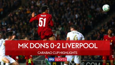 MK Dons 0-2 Liverpool