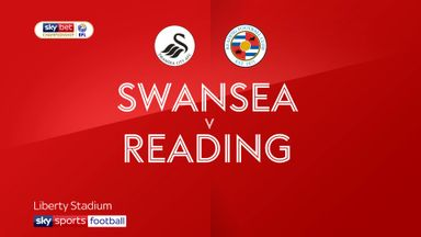 Swansea 1-1 Reading