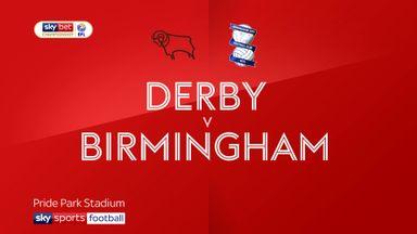 Derby 3-2 Birmingham