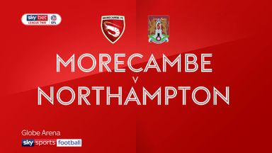 Morecambe 2-2 Northampton