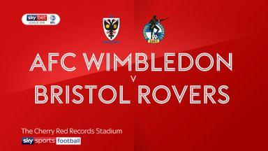 AFC Wimbledon 1-3 Bristol Rovers