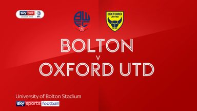 Bolton 0-0 Oxford