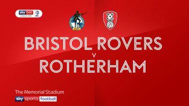 Bristol Rovers 1-0 Rotherham