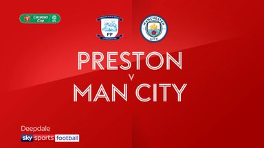 Preston  0-3 Man City