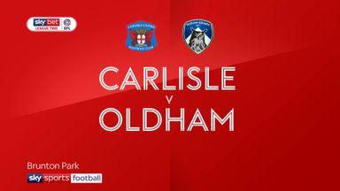 Carlisle 1-0 Oldham